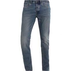 Jeansy męskie regular: Topman GRATTIS Jeansy Slim Fit blue