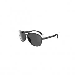 Okulary przeciwsłoneczne MH 500 kategoria 3. Czarne okulary przeciwsłoneczne damskie aviatory QUECHUA, z gumy. Za 59,99 zł.