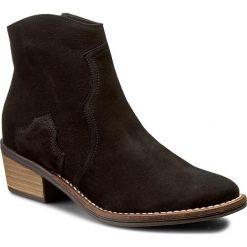 Botki OLEKSY - 2058/B22/000/000/000 Czarny Nubuk. Szare buty zimowe damskie marki Oleksy, ze skóry. W wyprzedaży za 279,00 zł.
