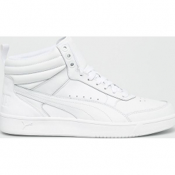 Puma - Buty. Szare buty skate męskie Puma, z materiału, na sznurówki. W wyprzedaży za 259,90 zł.