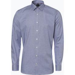 OLYMP No. Six - Koszula męska łatwa w prasowaniu, niebieski. Niebieskie koszule męskie na spinki OLYMP No. Six, m. Za 249,95 zł.