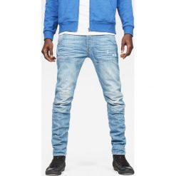 G-Star Raw - Jeansy 5620. Niebieskie jeansy męskie slim G-Star RAW, z bawełny. Za 599,90 zł.