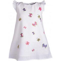 Sukienki dziewczęce z falbanami: Sukienka z krótkim rękawem dla dziewczynki 9-13 lat
