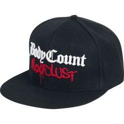 Body Count Bloodlust Czapka Snapback czarny. Czarne czapki damskie Body Count, z aplikacjami, z tworzywa sztucznego. Za 99,90 zł.