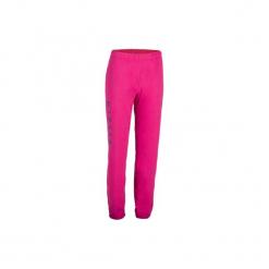 Spodnie damskie do siatkówki V 100 różowe. Czarne bryczesy damskie marki KIPSTA, m, z elastanu, z długim rękawem, na fitness i siłownię. Za 44,99 zł.