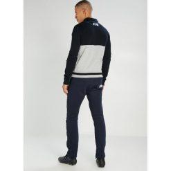 Pantofola d`Oro MAGLIA ZIP  Bluza rozpinana blu/grigio. Niebieskie kardigany męskie Pantofola d`Oro, m, z bawełny, sportowe. W wyprzedaży za 471,60 zł.
