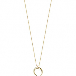 Pozłacany naszyjnik - (D)40 cm. Żółte naszyjniki damskie marki METROPOLITAN, pozłacane. W wyprzedaży za 139,95 zł.