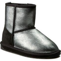 Buty EMU AUSTRALIA - Stinger Metallic Mini W11378 Black. Szare buty zimowe damskie marki EMU Australia, z gumy. Za 649,00 zł.