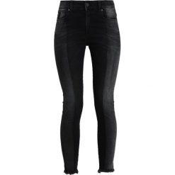 LOIS Jeans CORDOBA MOMO KHOL DUO Jeansy Dzwony black occlusion. Czarne jeansy damskie marki LOIS Jeans, z bawełny. Za 549,00 zł.