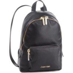 Plecak CALVIN KLEIN - Drive Backpack K60K604462 001. Czarne plecaki damskie marki Calvin Klein, ze skóry ekologicznej. Za 649,00 zł.
