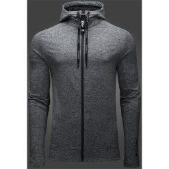 Bluzy męskie: Bluza męska Maciek Kot Collection BLM500 – szary melanż