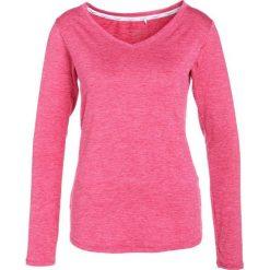 Venice Beach FUNNY LONGSLEEVE Koszulka sportowa persian red. Czerwone t-shirty damskie Venice Beach, l, z elastanu, z długim rękawem. Za 169,00 zł.