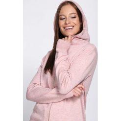 Jasnoróżowy Kardigan It's Your Choice. Szare swetry klasyczne damskie marki Reserved, m, z kapturem. Za 89,99 zł.