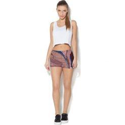 Spodnie sportowe damskie: Colour Pleasure Spodnie damskie CP-020 283 różowo-niebieskie r. M/L