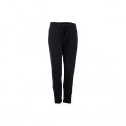 Spodnie dresowe 7/8 Gym & Pilates 500 damskie. Szare bryczesy damskie marki Adidas, l, z dresówki, na jogę i pilates. Za 189,99 zł.