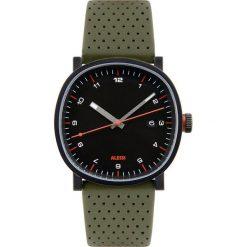 Zegarki męskie: Zegarek męski Tic15 skórzany pasek zielony