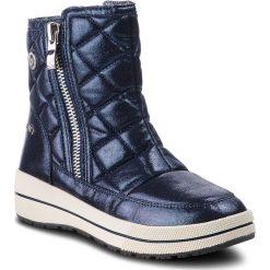 Śniegowce CAPRICE - 9-26454-21 Navy Metallic 832. Niebieskie buty zimowe damskie Caprice, z materiału. Za 249,90 zł.