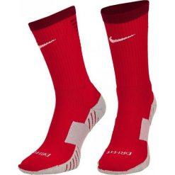 Skarpetogetry piłkarskie: Nike Skarpety Matchfit Cushion Crew czerwone r. 38-42 (SX5729 657)