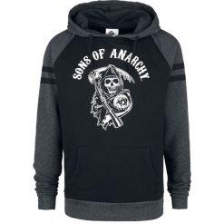 Sons Of Anarchy Reaper Bluza z kapturem odcienie szarego/czarny. Czarne bluzy męskie rozpinane Sons Of Anarchy, l, z kapturem. Za 184,90 zł.