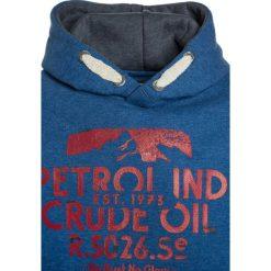 Petrol Industries HOODED Bluza z kapturem deep sea. Niebieskie bluzy chłopięce rozpinane marki Petrol Industries, z bawełny, z kapturem. W wyprzedaży za 135,20 zł.