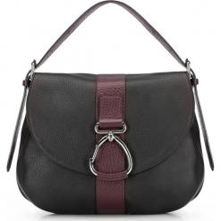 Torebka damska 87-4E-003-1. Czarne torebki klasyczne damskie Wittchen, w paski. Za 979,00 zł.