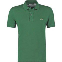 Lacoste SHORTSLEEVE SLIM FIT Koszulka polo green. Szare koszulki polo marki Lacoste, z bawełny. Za 389,00 zł.