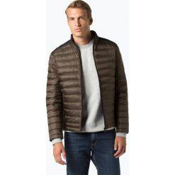 Calvin Klein - Męska kurtka puchowa, zielony. Pomarańczowe kurtki męskie pikowane marki Calvin Klein, l, z bawełny, z okrągłym kołnierzem. Za 899,95 zł.