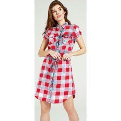 Sukienki: Sukienka - 2-13182 RE-BL