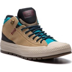 Trampki CONVERSE - Ctas Street Boot Hi 162359C Khaki/Black//Rapid Teal. Brązowe tenisówki męskie Converse, z gumy. W wyprzedaży za 299,00 zł.