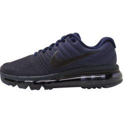 Nike Performance AIR MAX 2017 BG Obuwie do biegania treningowe binary blue/black/obsidian. Niebieskie buty do biegania damskie marki Nike Performance, z materiału. W wyprzedaży za 495,20 zł.