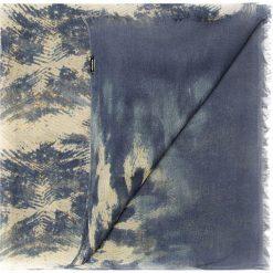 Szal damski 85-7D-X04-X1. Niebieskie szaliki damskie marki Wittchen, na zimę, z materiału. Za 139,00 zł.