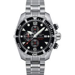 RABAT ZEGAREK CERTINA DS Action C032.427.11.051.00. Czarne zegarki męskie CERTINA, szklane. W wyprzedaży za 4171,20 zł.