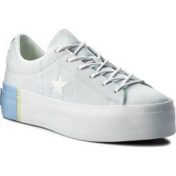 Sneakersy CONVERSE - One Star Platform Ox 559903C Blue Tint/Blue Chill/White. Niebieskie sneakersy damskie Converse, z gumy. W wyprzedaży za 259,00 zł.