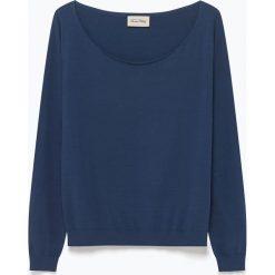 """T-shirty damskie: Koszulka """"Marcel"""" w kolorze granatowym"""