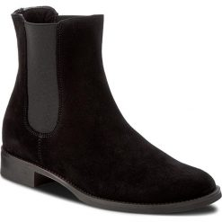 Sztyblety GINO ROSSI - Nevia DSH247-G12-R500-9900-F 99. Czarne buty zimowe damskie Gino Rossi, z materiału, na obcasie. W wyprzedaży za 259,00 zł.