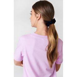 Ozdoby do włosów: NA-KD Accessories Aksamitna gumka owijka - Blue,Navy