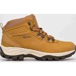 Big Star - Buty. Brązowe buty trekkingowe męskie BIG STAR, z gumy, na sznurówki, outdoorowe. W wyprzedaży za 149,90 zł.