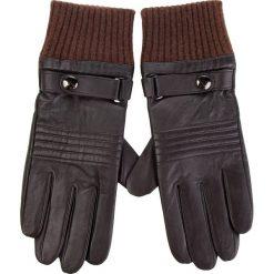 Rękawiczki Męskie WITTCHEN - 39-6-705-B M Brązowy. Brązowe rękawiczki męskie Wittchen, ze skóry. Za 279,00 zł.
