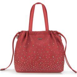 Torebka damska 87-4Y-350-3. Czerwone shopper bag damskie Wittchen, w paski. Za 159,00 zł.