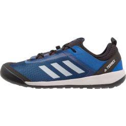 Adidas Performance TERREX SWIFT SOLO Buty wspinaczkowe dunkelblau. Niebieskie buty trekkingowe męskie adidas Performance, z materiału, outdoorowe. Za 399,00 zł.