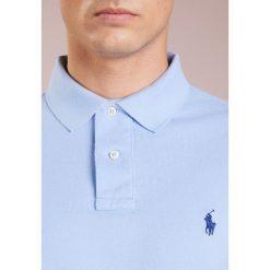 Polo Ralph Lauren SLIM FIT Koszulka polo austin blue. Niebieskie koszulki polo Polo Ralph Lauren, m, z bawełny. Za 419,00 zł.
