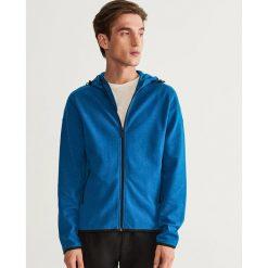 Bluza z kapturem - Turkusowy. Czerwone bluzy męskie rozpinane marki KALENJI, m, z elastanu, z długim rękawem, długie. Za 69,99 zł.