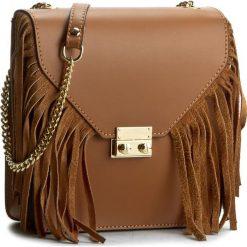 Torebka CREOLE - K10210 Koniak. Brązowe torebki klasyczne damskie Creole, ze skóry. W wyprzedaży za 169,00 zł.