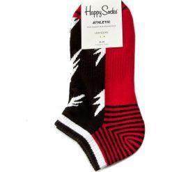 Skarpety Niskie Unisex HAPPY SOCKS - ATFLA05-9000 Czerwony. Czerwone skarpetki męskie marki Happy Socks, z bawełny. Za 39,90 zł.