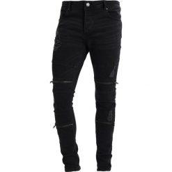 Jeansy męskie: Brave Soul ELBA Jeans Skinny Fit charcoal grey