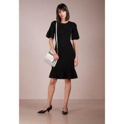 MICHAEL Michael Kors BODYCON TEXTRED  Sukienka dzianinowa black. Czarne sukienki dzianinowe marki MICHAEL Michael Kors, s, bodycon. W wyprzedaży za 450,45 zł.