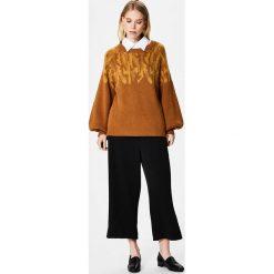 Swetry damskie: Selected Femme SFDRAMA  Sweter golden brown/chai tea