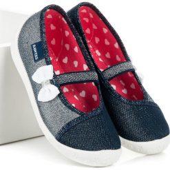 Buciki niemowlęce chłopięce: AYLA wygodne obuwie domowe