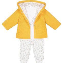 Spodnie niemowlęce: Komplet kamizelka + T-shirt + spodnie 0-24 mies.