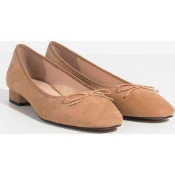 Parfois - Baleriny. Różowe baleriny damskie marki Parfois, z gumy. W wyprzedaży za 39,90 zł.